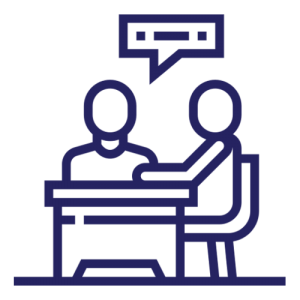 coworking space - free consultation icon